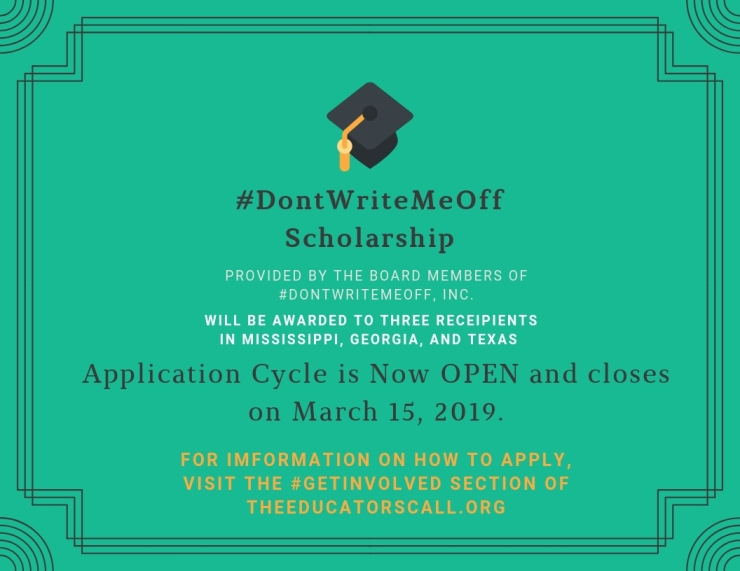 Application Cycle is Now OPEN and closes on March 15, 2019.